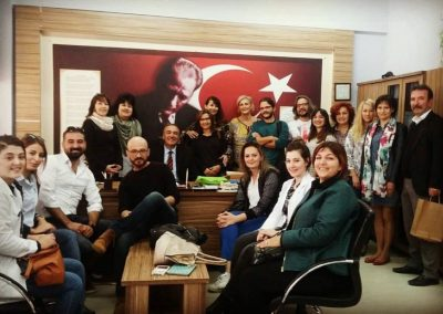 Reunion Transnacional Turquia - Salesianos Cartagena