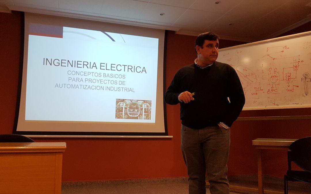 SEMINARIO TÉCNICO INGENIERÍA ELÉCTRICA, CONCEPTOS BÁSICOS PARA PROYECTOS DE AUTOMATIZACIÓN INDUSTRIAL