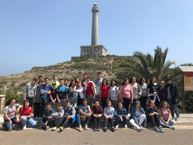 Excursión a Cabo Palos 1º ESO San Juan Bosco Cartagena