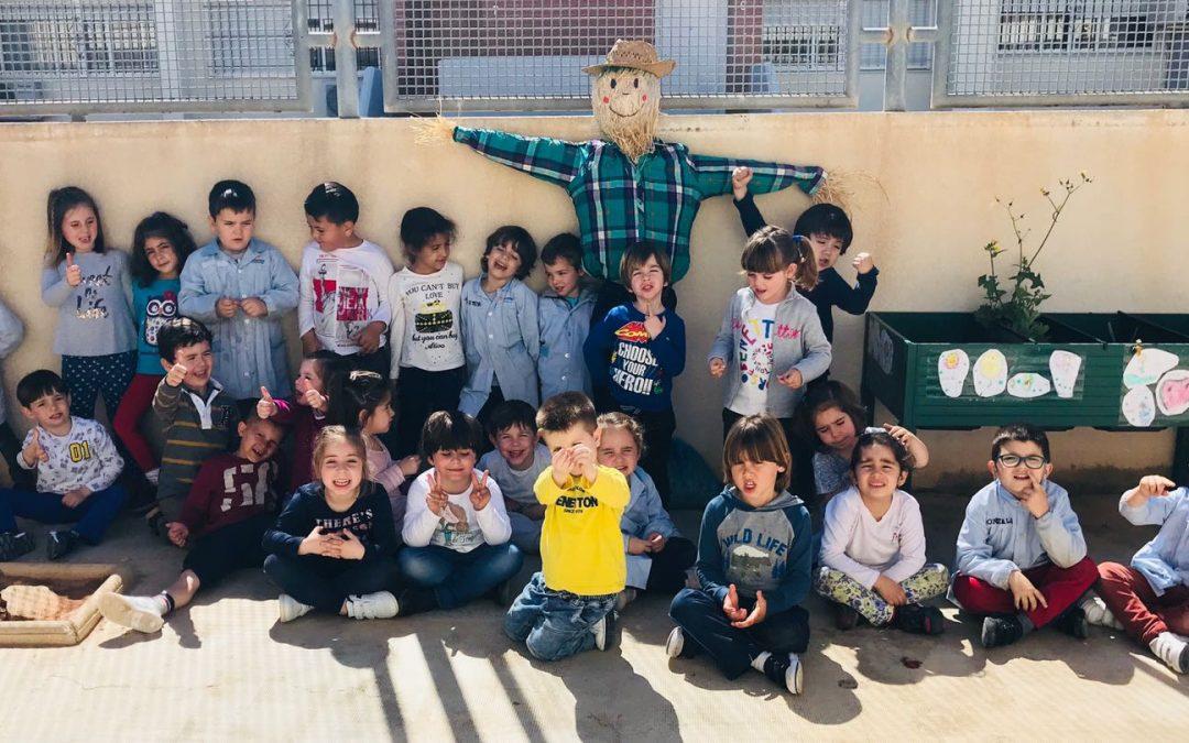 ESPANTAPÁJAROS. Educación Infantil