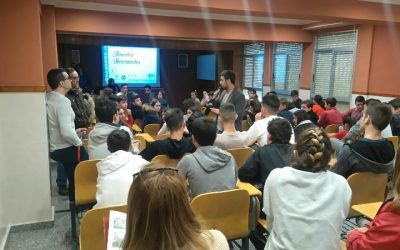Jornadas vocacionales ESO y Bto. Centro San Juan Bosco de Cartagena