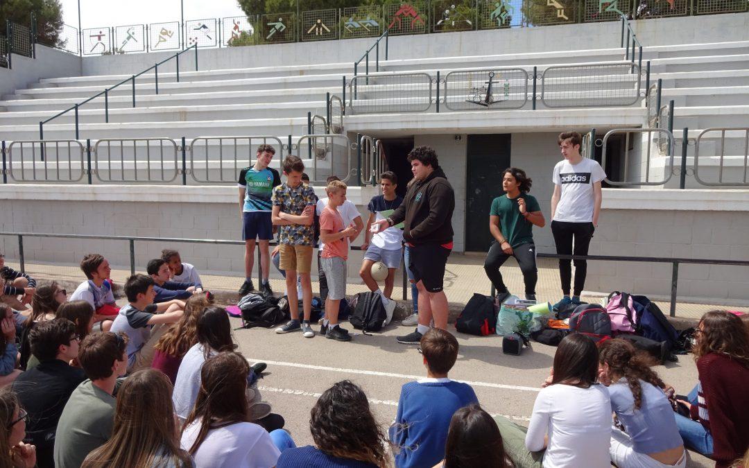Jornada de convivencia con alumnos franceses de Gençay en el Centro San Juan Bosco de Cartagena