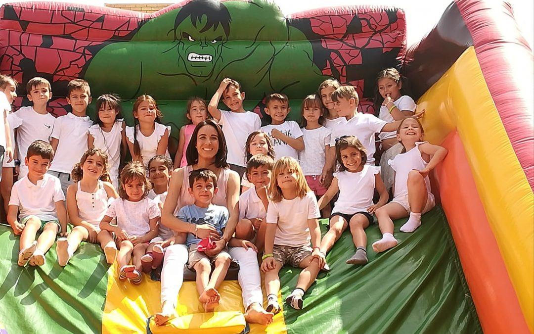 FIESTA DE HINCHABLES- Educación Infantil