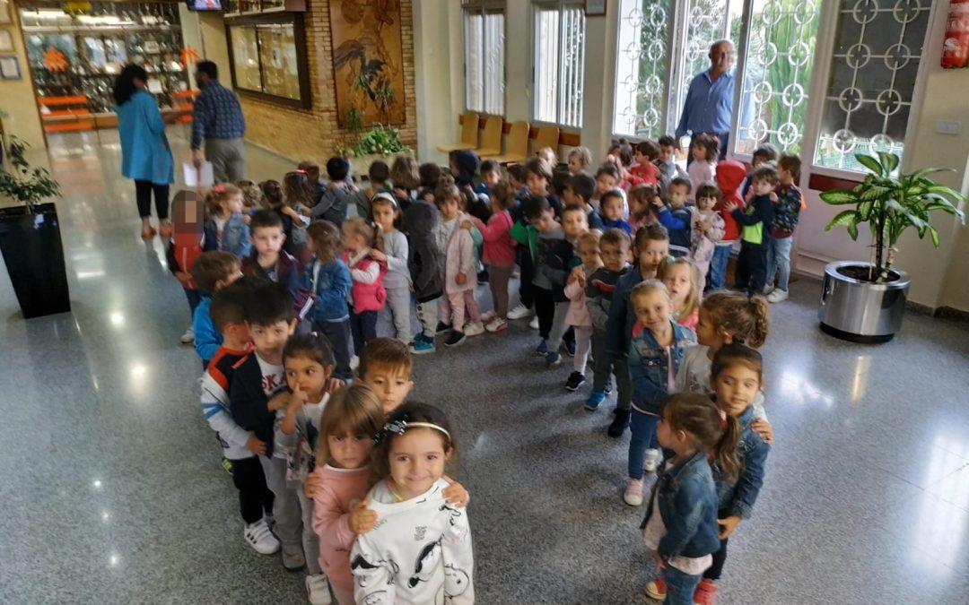 CONOCEMOS NUESTRO COLEGIO. EDUCACIÓN INFANTIL