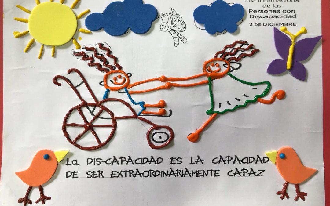 DÍA INTERNACIONAL DE LAS PERSONAS DISCAPACITADAS. Educación Infantil