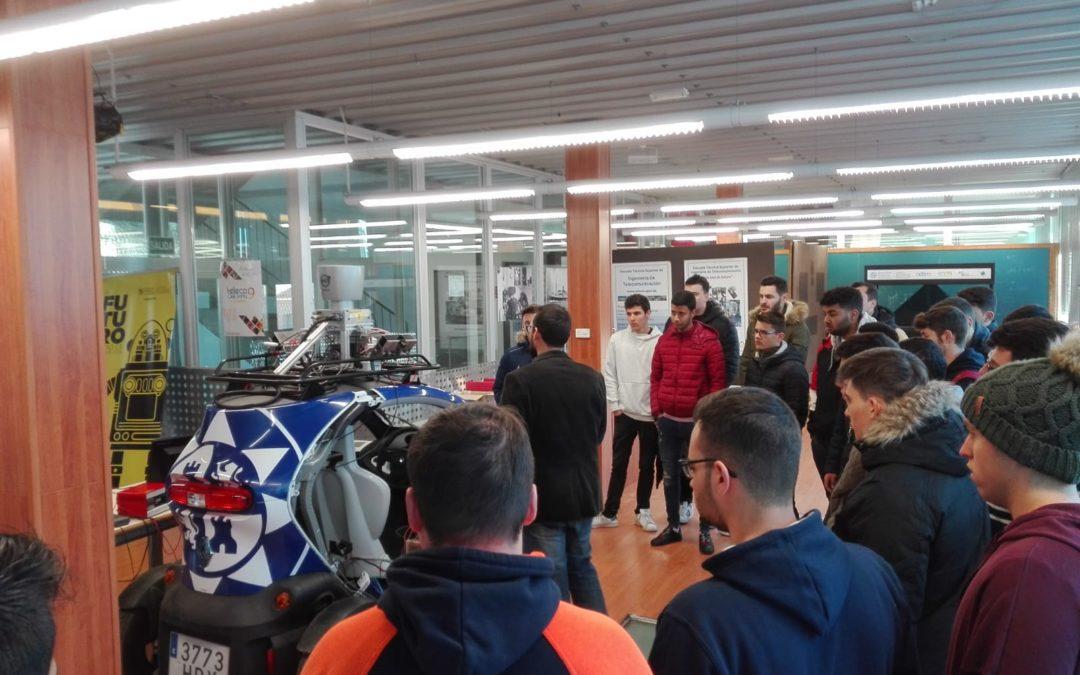 La FP Visita la Universidad Politécnica de Cartagena