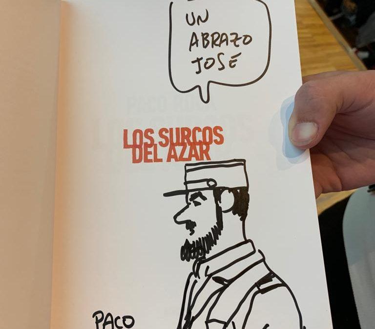 """ENCUENTRO CON EL AUTOR de """"Los surcos del azar"""" de Paco Roca"""