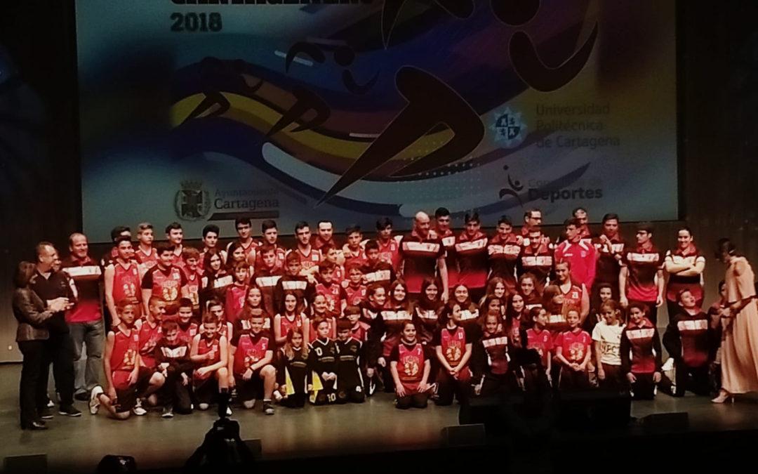 ESCUELA DE BALONCESTO SALESIANOS MEJOR CLUB DE BASE 2018
