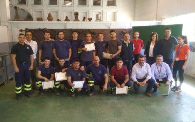 NAVANTIA entrega sus diplomas a la tercera promoción de la Escuela de Soldadura