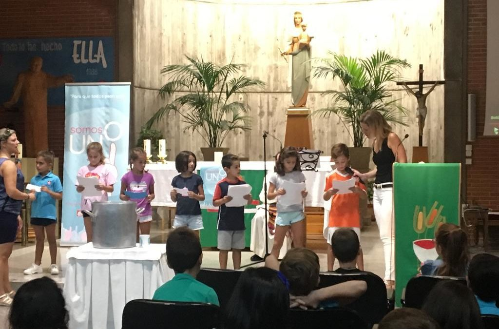 Celebración inicio de curso Educación Primaria