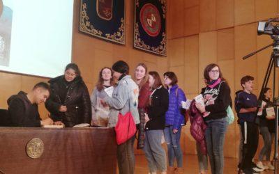 2º y 3º de Secundaria de Salesianos Cartagena en los premios H