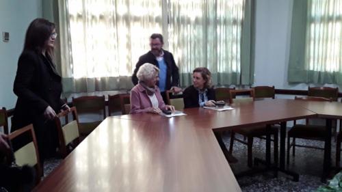 2019-04-02 | Colegio | Visita Consejera y Concejala educación