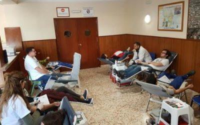 Donación de sangre en Salesianos Cartagena