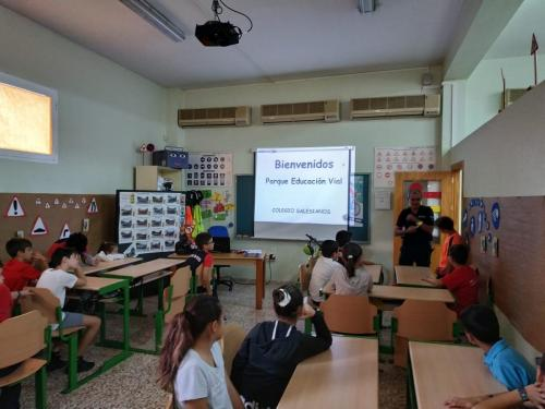 EDUCACION VIAL. SALESIANOS CARTAGENA