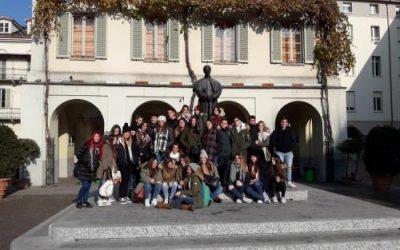 Viaje de estudios de los alumnos de 2º de Bachillerato Salesianos Cartagena