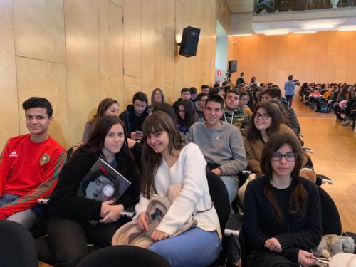 2019-03-05 | Secundaria | Encuentro con Rayco Pulido - Premio Mandarache 2019