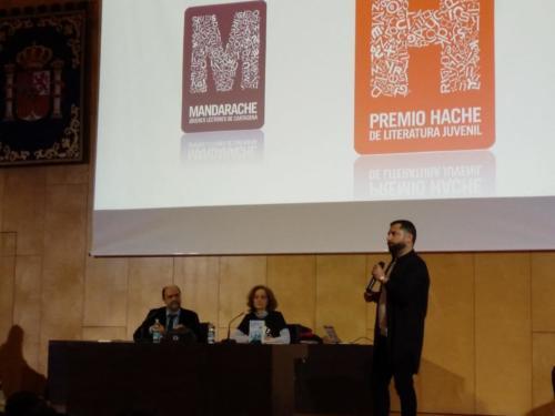 2019-03-13 | Secundaria | Encuentro con Fernando Lalana - Premio H 2019