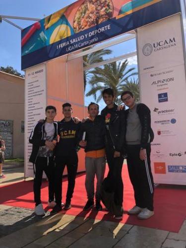2019-03-11 | Bachillerato | Feria de la Salud y el Deporte de la UCAM