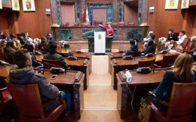 Visita a la Asamblea Regional de los alumnos de Gestión Administrativa