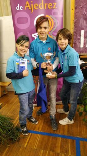 2019-02-05 | Colegio | Torneo Ajedrez Intercentros