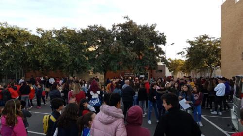2019-12-14 | Casa Salesiana | Recogida de alimentos