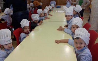 Magníficos pasteleros. Educación Infantil